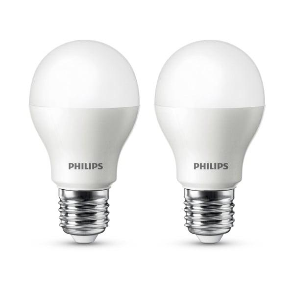 LED žiarovka Philips 60W E27 WW 230V A60 FR (2 ks)