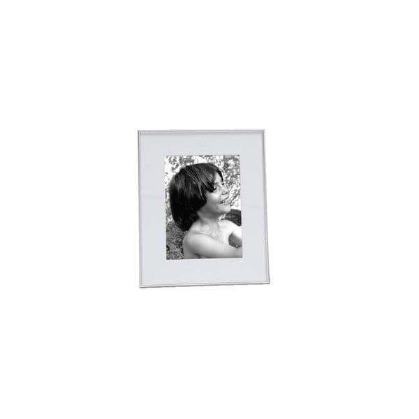 Fotorámček Natura 9x13/13x18 cm, biely