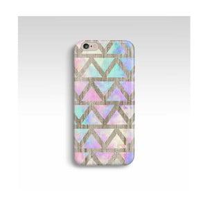 Obal na telefón Wood Triangles V pre iPhone 6/6S