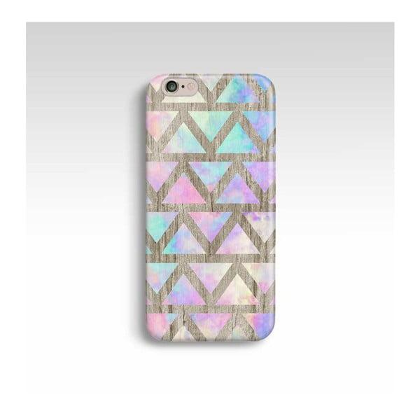 Obal na telefón Wood Triangles V pre iPhone 5/5S