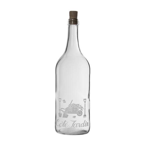 Sklenená fľaška Cote Jardin, 1 l