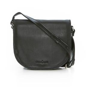Čierna kožená kabelka Gianni Conti Patricia