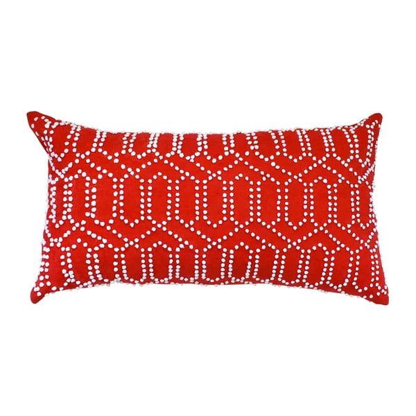 Obliečka na vankúš Gantha Red, 30x53 cm