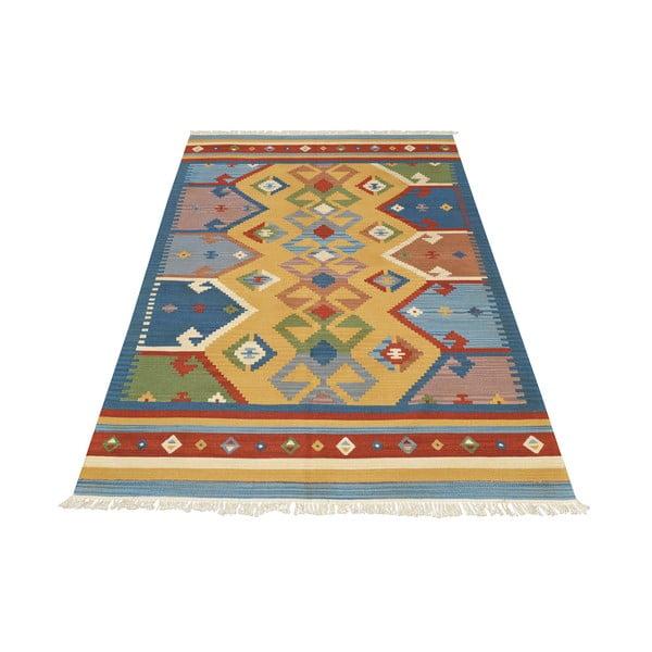 Ručne tkaný koberec Kilim Classic K05 Mix, 95x155 cm