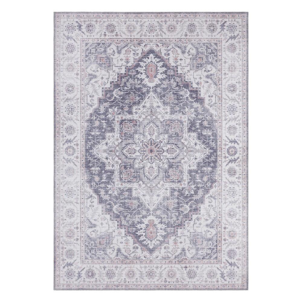 Sivo-ružový koberec Nouristan Anthea, 120 x 160 cm