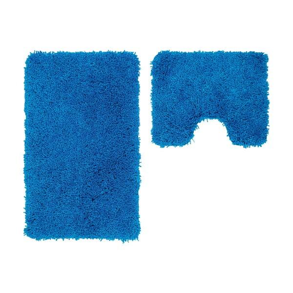 Sada 2 kúpeľňových predložiek s výrezom Citylights Blue