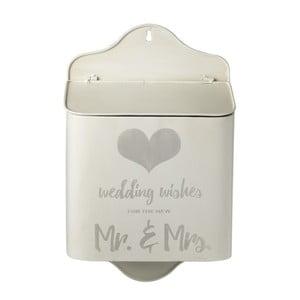 Kovový box Heaven Sends Wedding Wishes