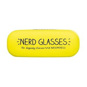Žlté puzdro na okuliare Happy Jackson Nerd Glasses