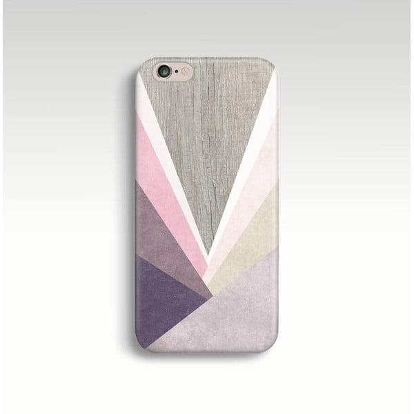 Obal na telefón Wood Triangles II pre iPhone 6+/6S+