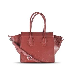 Kožená kabelka Rose, červená