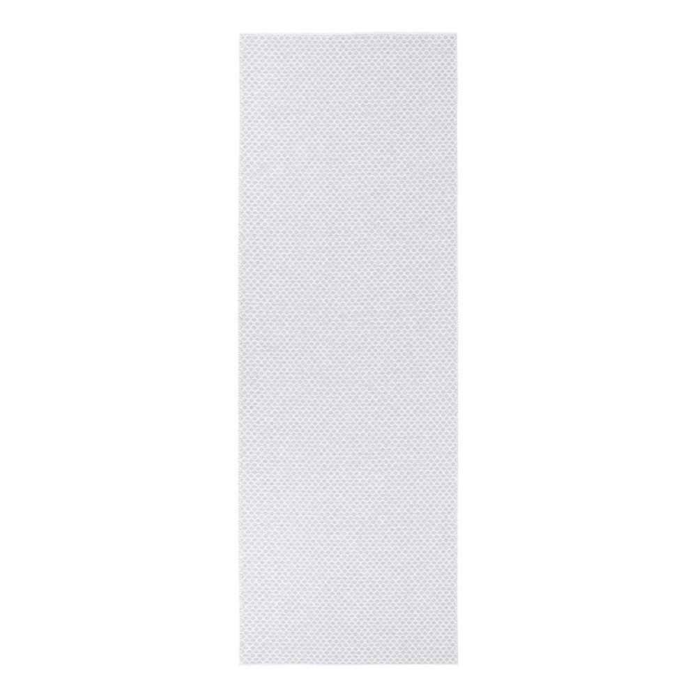 Svetlosivý behúň vhodný do exteriéru Narma Diby, 70 × 150 cm