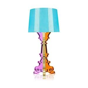 Lampa Bourgie Metal, tyrkysová