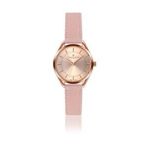 Dámske hodinky so svetloružovým remienkom z pravej kože Frederic Graff Melissa