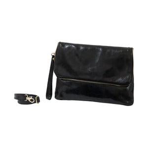 Čierna kabelka z pravej kože Andrea Cardone Marco