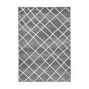 Tmavosivý koberec Hanse Home Rhombe, 70×140cm