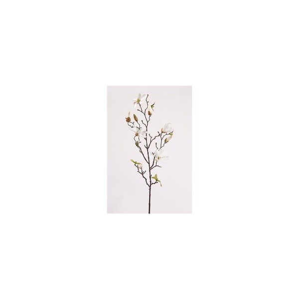 Umelý kvet Magnólia Stellata, biela