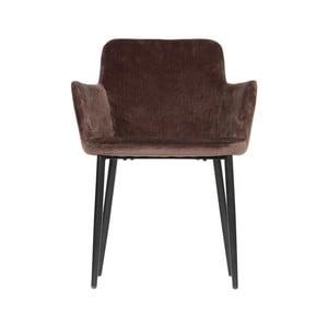 Hnedá jedálenská stolička WOOOD Tatum