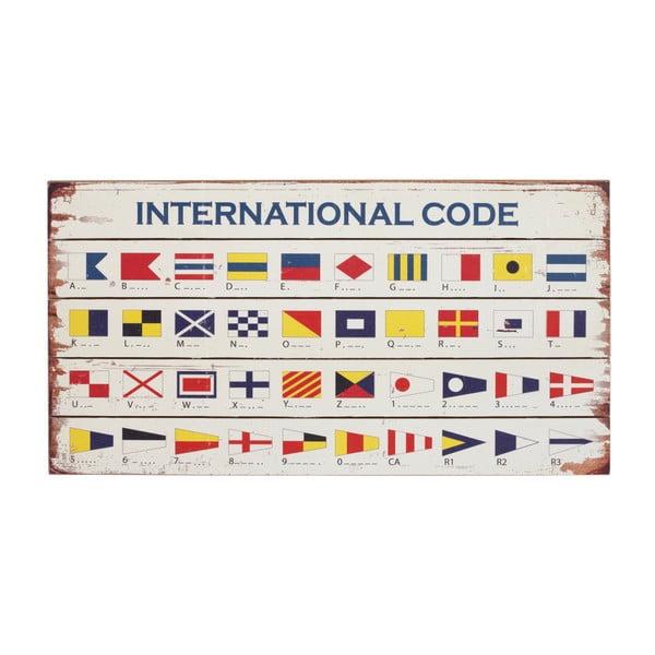 Drevená ceduľa Artesania Esteban Ferrer International Code