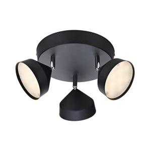 Čierne nástenné svetlo Markslöjd Tratt 3