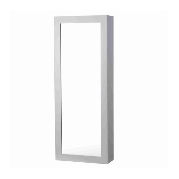 Zrkadlo s priehradkami na kravaty White Elegance