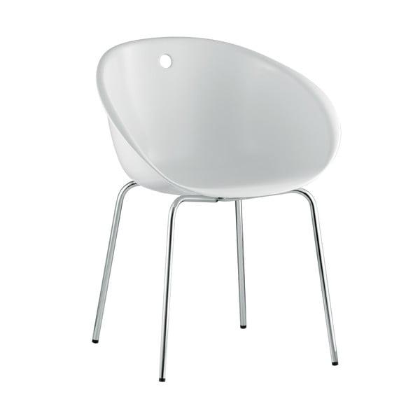 Biela stolička Pedrali Gliss