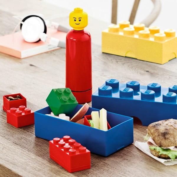 Fľaša Lego, čierna