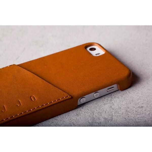 Peňaženkový obal Mujjo na telefón iPhone 5 Tan