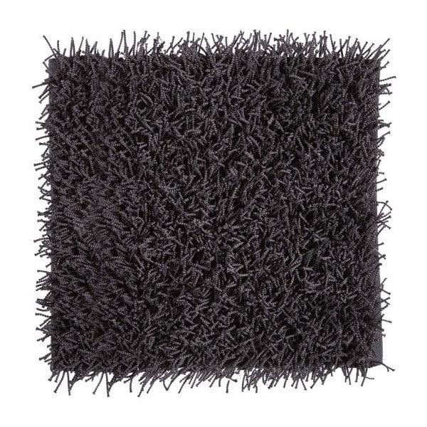 Tmavosivá kúpeľňová predložka Aquanova Taro, 60 x 60 cm