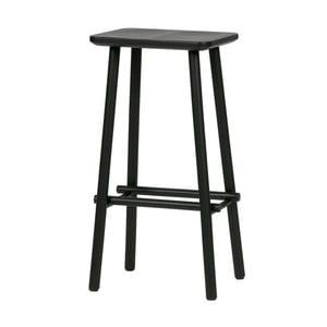Čierna barová stolička De Eekhoorn Butt
