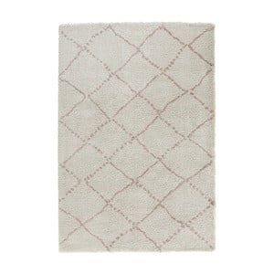 Krémovo-ružový koberec Mint Rugs Allure Ronno Creme Rose, 120 x 170 cm