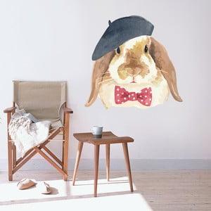 Samolepka Handsome Bunny, 70x50 cm