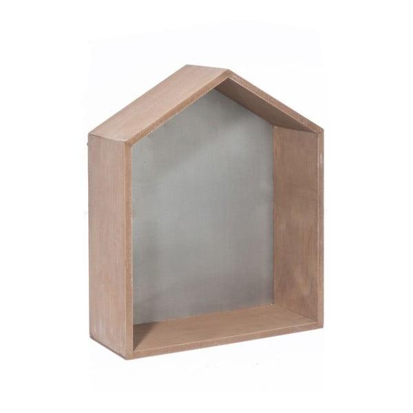 Dekorácia House Grey, 30x36x12 cm