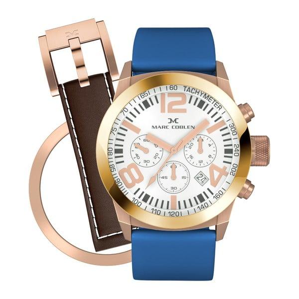 Dámske hodinky Marc Coblen s remienkom a krúžkom na ciferník naviac P91