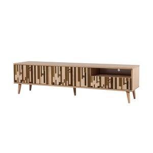 TV stôl Stella Piano Brown, šírka 46 cm