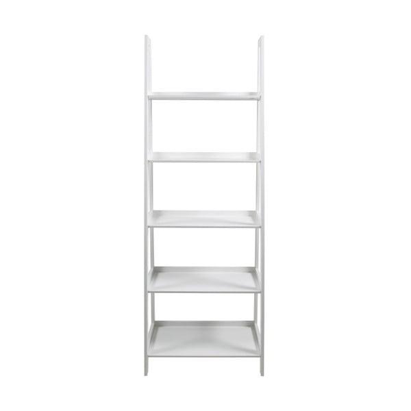 Biely päťposchodový regál Actona Wally