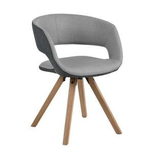 Svetlosivá jedálenská stolička Actona Grace