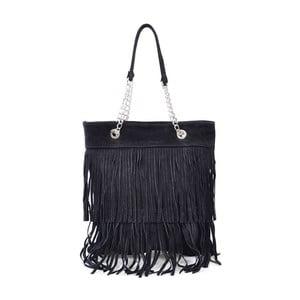 Kožená kabelka Marianne, čierna