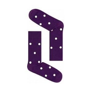 Ponožky Happy Socks Purple Dots, veľ. 41-46