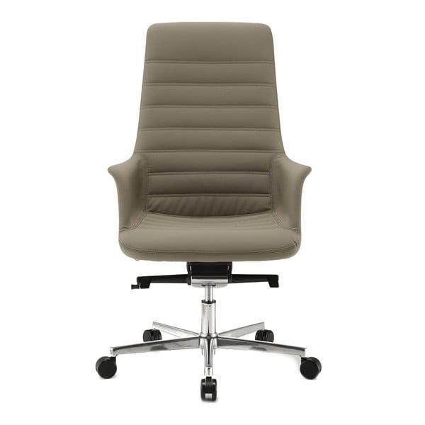 Sivá kancelárska stolička s kolieskami Zago Vetta