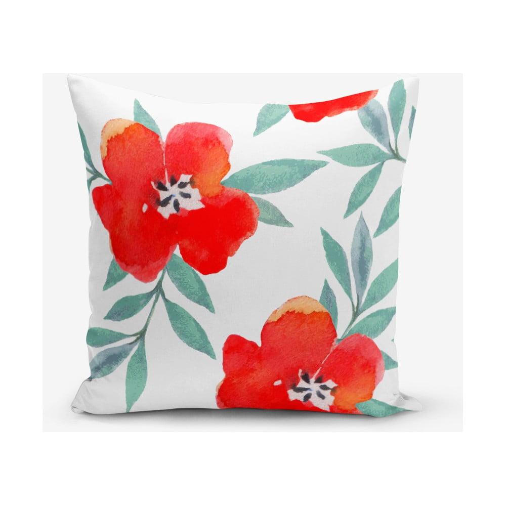 Obliečka na vankúš s prímesou bavlny Minimalist Cushion Covers Florita, 45 × 45 cm