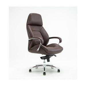 Hnedá otočná kancelárska stolička RGE Šport