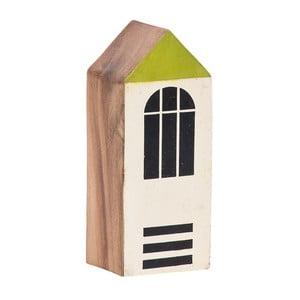 Drevený dekoratívny domček Vox Budynek, výška 15cm
