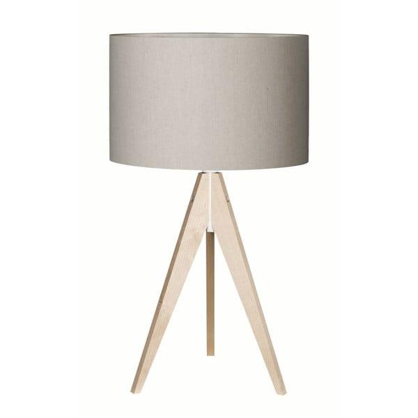 Sivá stolová lampa4room 4room Artist breza, Ø 33 cm