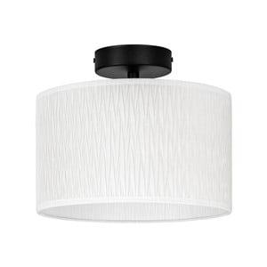 Biele stropné svietidlo Bulb Attack Once, ⌀ 25 cm