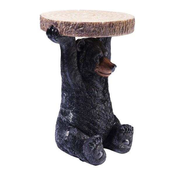Odkladací stolík v tvare zvieraťa Kare Design Mini Bear, Ø 35cm
