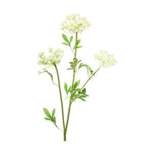 Umelá kvetina s bielymi kvetmi Ixia Lace, výška 97cm