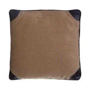 Vankúš Heritage Leather, 45x45 cm