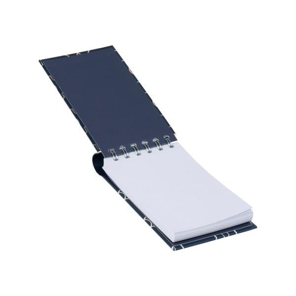 Sada zápisníka, bloku a lepiacich papierikov Navy Blush