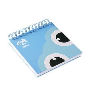 Modrý linajkový zápisník TINC Tonkin