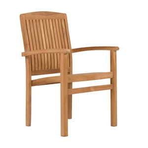 Záhradná stolička z teakového dreva SOB Garden